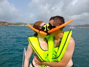 snorkel kiss