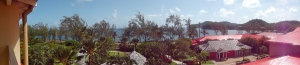 panorama from our room