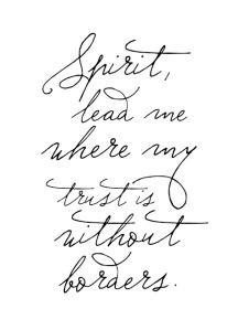 Spirit Lead Me