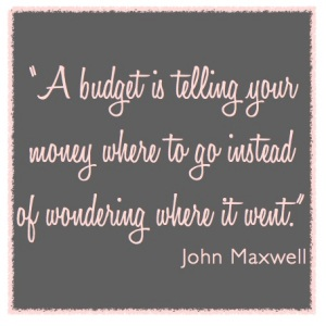 31 days – fall 2013 – budgeting 101