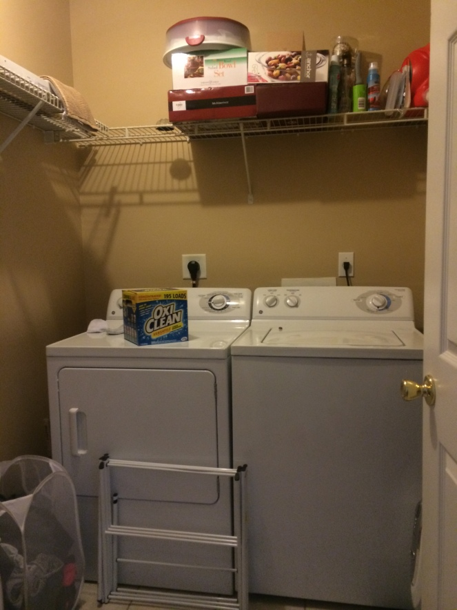 laundry room before | Atwell Adventures