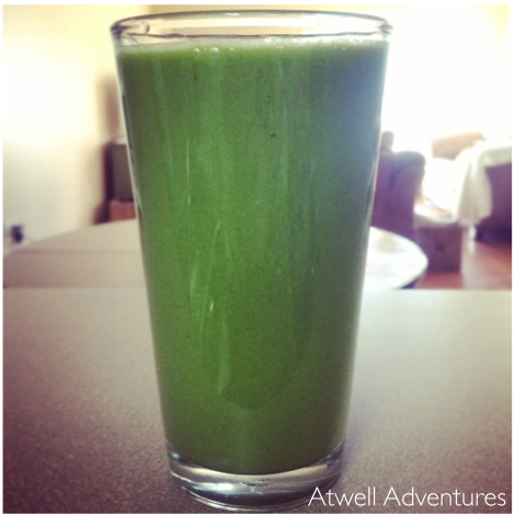 green smoothie | Atwell Adventures