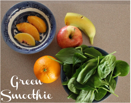 green smoothie ingredients | Atwell Adventures