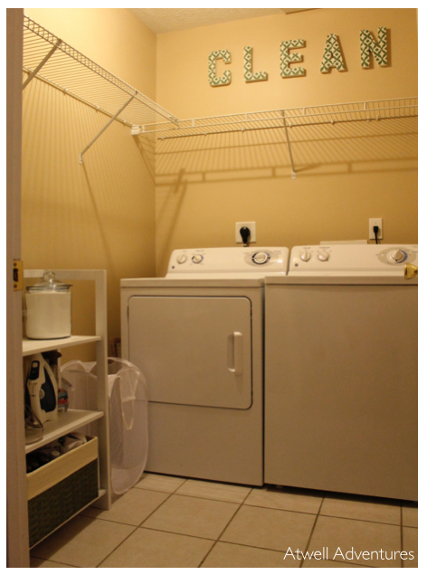 Laundry Room | Atwell Adventures 1