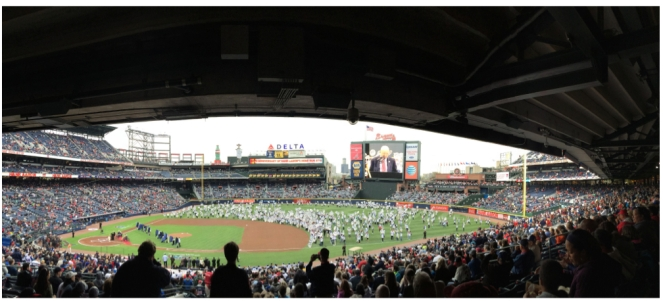 Braves Home Opener 2014 | Atwell Adventures.004