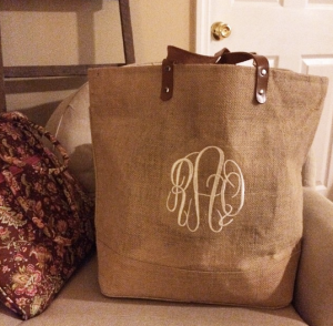 Monogram Bag | Atwell Adventures